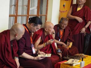 Rinpoche at india